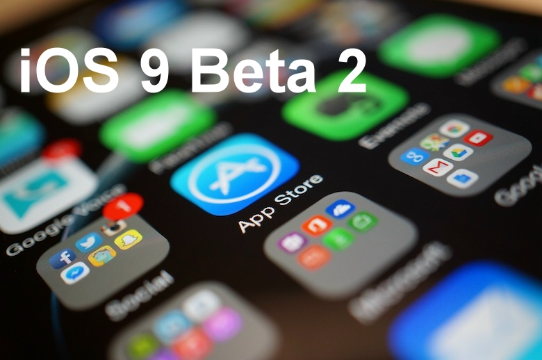 ios9 beta 2 download test