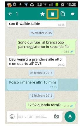 cancellare messassi whatsapp inviati per sbaglio