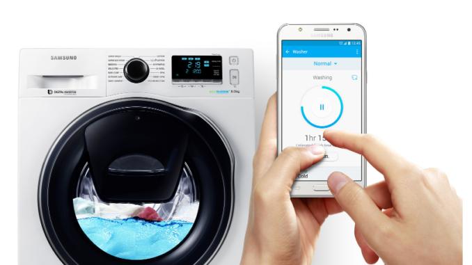 lavatrice wifi app smartphone