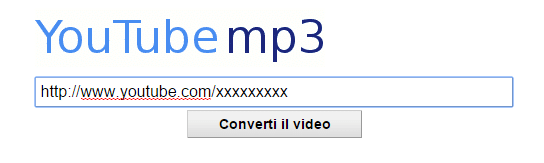 convertitore YouTube MP3