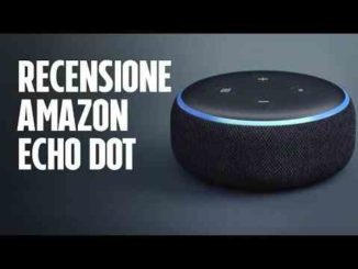 Alexa Amazon Echo Dot recensione