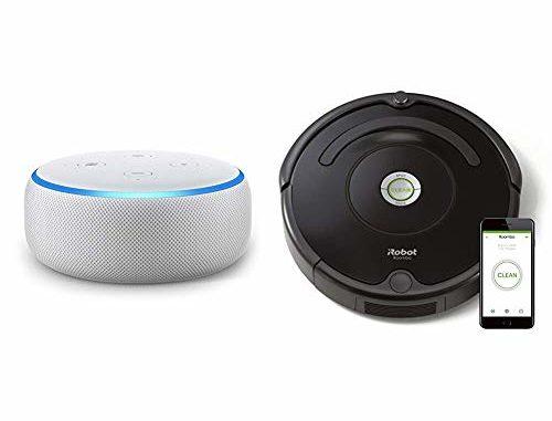 Robot Aspirapolvere Alexa